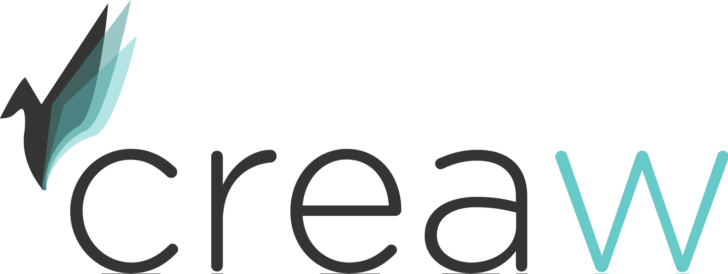 Creaw logo dark full